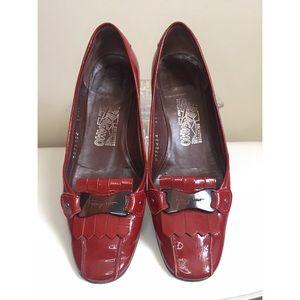 VINTAGE Salvatore Ferragamo loafer flats